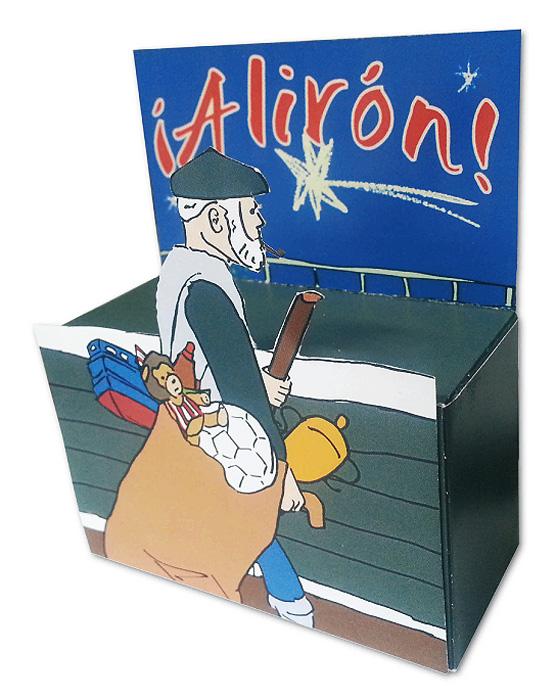 aliron-olentzero-recortable-3D